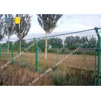 Buy cheap High Tensile Barbed Wire Fence Protective Net Weather Resistance For Road product