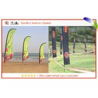 China Indoor And Outdoor Advertising Customized Beach Flags Flying Banners on sale