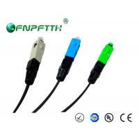 Buy cheap 0.2dB Fiber optic cable connectors Single mode product