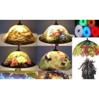 Quality Tiffany Lamps Glass Handcraft Decoration for sale