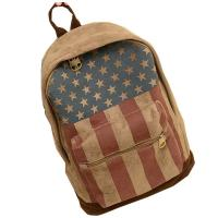 Quality Printed Chamois Leather Kids Sports Backpack  / Travelling Backpacks For Girls for sale