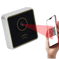 Buy cheap Ethernet Port 13.56mhz QR Code Reader Access Control IC Smart Card RFID Reader from wholesalers