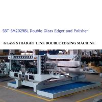 Buy cheap Glass Double Edger Glass Processing Equipment / Glass Processing Plant,Glass Double Edger ,Straiight Line Glass Edger product
