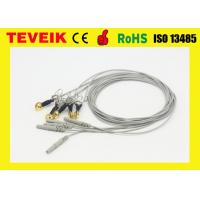 Buy cheap Waterproof  EEG Cable, DIN1.5 Socket, Ear-Clip Electrode,Gold Plated Copper product