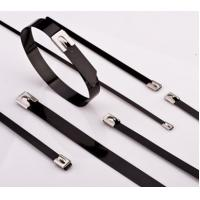 Buy cheap Plastic sprayed stainless steel cable ties product