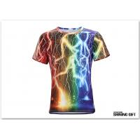 Buy cheap Unisex Thunder Lighting T-Shirts Fashion 3D Printed Short Sleeve Shirts from wholesalers