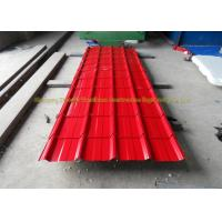 Buy cheap Sound Insulation Corrugated Metal Roofing Colour Coated Steel Roofing Sheets product