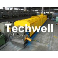 """Buy cheap 3"""" * 3"""" Squared Rainwater Downpipe Roll Forming Machine For Water Pipe, Rain Gutter product"""
