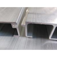 Quality Extrusion Waterproof Aluminum Decking Board for Elevator / Escalator Threshold Plate for sale