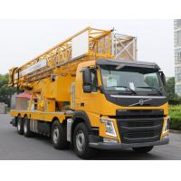 Buy cheap Durable Under Bridge Platform Snooper Truck Inspection Equipment Yellow Color product