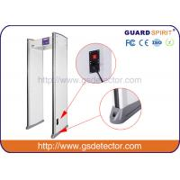 Buy cheap Bank Airport Security Machines 6 Zones With Sound And LED Alarm , Police Metal Detectors product