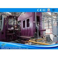 Buy cheap HRC Material Welded Tube Mill , Stainless Steel Pipe Welding Machine ISO9001 product