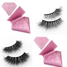 Buy cheap Private label mink eyelashes strip lashes with custom eyelash box from wholesalers