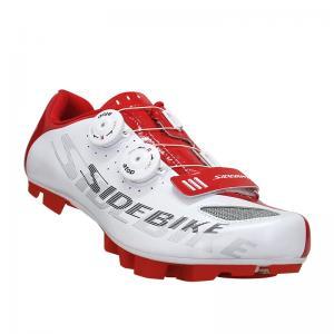 China Nylon Dampproof Waterproof Cycling Footwear , Waterproof Mountain Bike Shoes on sale