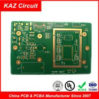 Buy cheap FR4 1oz ENIG  Electronic Printed Circuit Board Pcb 10 Layers 3.0mm product
