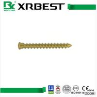 China Foot Surgery Bone Fixation Screws , Calcaneal Locking Plate Titanium Medical Screws wholesale