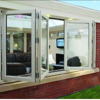 Buy cheap Double panel folding glass windows prefabricated windows and doors product