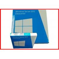 Buy cheap Microsoft windows server 2012 datacenter / standard 64 bit  dvd Retail box Geniune COA License activation product