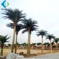 Buy cheap Indoor Outdoor Artificial Coconut Palm Trees For Water Amusement Park Large Size product