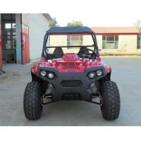 """China Front And Rear 10"""" Big Tire Gas Utility Vehicles With Chain Drive wholesale"""