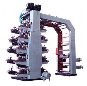 Buy cheap Hi Speed 10 Color Flexo Printing Machine , Flexographic Printing Machine product