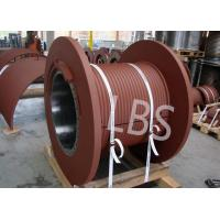 Buy cheap JZSC—T Model Wire Rope Winch Drum , Lebus Grooved Drum Hydraulic Drive product