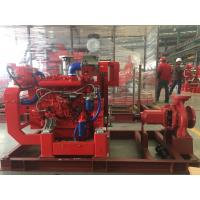 Buy cheap 400usgpm 100psi Diesel Engine  UL/FM Pump Set ( Heat Exchanger) End Suction Fire fighting product