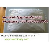 Buy cheap Local Anaesthetic Drugs Tetracaine with High Purity CAS 94-24-6 product