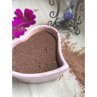 Buy cheap Dark Brown Healthy Cocoa Powder AF02 , Unsweetened Cocoa Powder 10-12% Free Flowing product