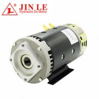 Buy cheap Power Unit Direct Drive Motor ,  3.5KW 24V Hydraulic Motor With 100% Copper Wire product