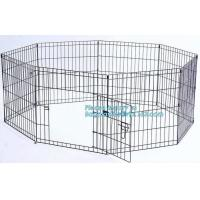 Buy cheap Manufacturer wholesale stainless steel metal large small foldable carriers cheap pet dog cage, Large Steel Dog Cage For product