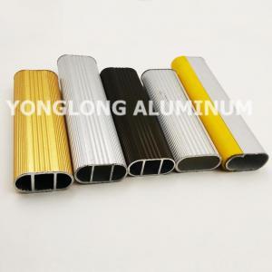 Buy cheap Square Wardrobe Aluminium Frame Profile For Decorative Material / Aluminum Sliding Window Profile product