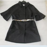 Buy cheap Chic Fashionable Winter Coats Flare Sleeves Snap Closure Womens Wool Winter Coats product