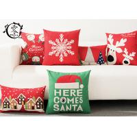 Buy cheap Merry Christmas Decorative Cushions Pillows Throw Cushion Case Home Decor Cotton Linen for Sofa product