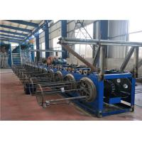 China Horizontal Wire Take Up Machine , Electro Galvanizing Line Equipment 20-25 Tons on sale
