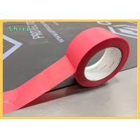 Buy cheap Stucco Masking Tape Outdoor UV Stucco Masking Tape Red Stucco Tape product