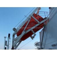Buy cheap Life saving equipment life boat davit for totally enclosed boat product