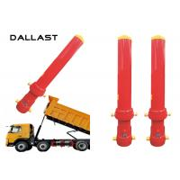 Buy cheap Dump Truck Telescopic Cylinder Multistage Stage 4 Chromed Hydraulic Cylinder product