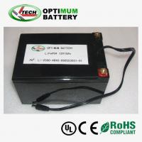 Buy cheap 12v 10ah Solar-Charged Battery Pack Rechargable Lifepo4 Battery product
