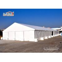 Buy cheap 1000 Square meter White color Solid Large Aluminum Party Tents Warehouse Outdoor product