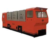 Mining Equipment 14T Flameproof Battery Locomotives Anti-explosive Electrical Battery Locomotive