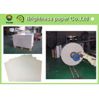 Buy cheap Strong Stiffness White Cardboard Sheets 400gsm Paper Moisture Proof product