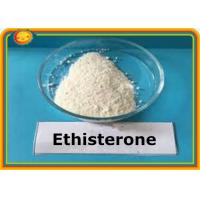 Buy cheap Ethisterone Raw Hormone Powder Female Steroid Ethisterone Progestogen 434-03-7 product