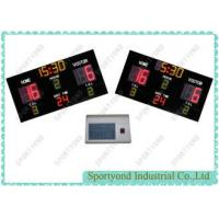 Super Bright LED Water Polo Scoreboard Sports , Electronic Digital Scoring Board
