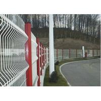 Buy cheap Triangular Bends Garden Mesh Fencing Safety For Sport Field , 3-6.0mm Wire Gauge product