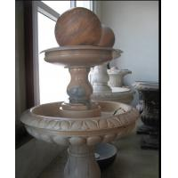 Buy cheap Red Marble Rolling Ball Fountain product