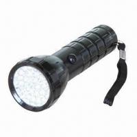 Buy cheap 28-piece LED Torch with 13,000mcd Brightness and 300 Minutes Working Time product