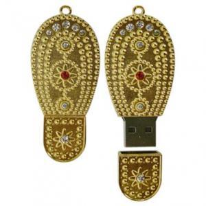 China Gold Bar shape diamond usb stick for pomotional gift 128mb 256mb 1g 2g 4g 8g 16g on sale