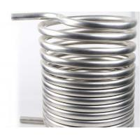 Buy cheap High quality Gr2 titanium twist heat exchanger coil for Condenser product