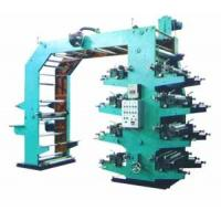 Buy cheap 8 Color Flexographic Printing Equipment For Plastic Film / Cellophane Paper product